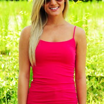 The Softest Tank: Hot Pink