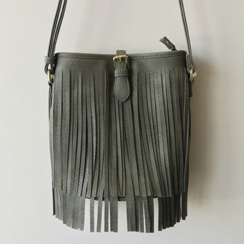 Fringe Buckle Bag