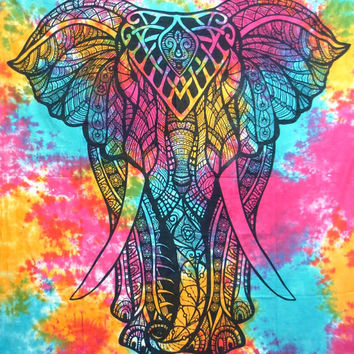 Wall Tapestry. Elephant Wall Tapestry. Tapestries. Bohemian Tapestries. Hippie Tapestry. Ethnic Tapestries. Boho