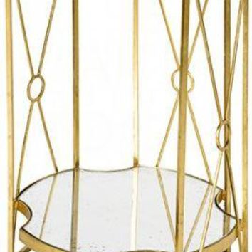 Tall Marlene Side Table Two Tier