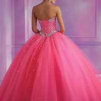 2016 New Formal Prom Quinceanera Party Ball Gown Wedding Dresses Size 2-22