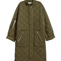 H&M Quilted Coat $129