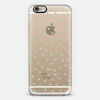 Mint Polka Dot iPhone 6 case by Pencil Me In | Casetify