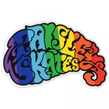 Paisley Skates Paisley Skates Logo Sticker Assorted Colors