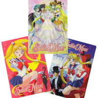 SAILOR MOON FOLDER SET