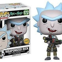 Rick and Morty Weaponized Rick Pop! Vinyl Figure CHASE VARIANT