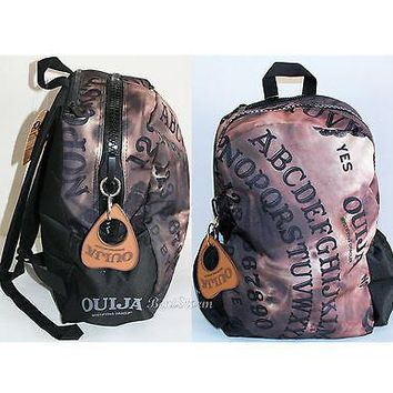 Licensed cool NEW Ouija Board Oracle Large Zipper Backpack School Planchette Charm Book Bag