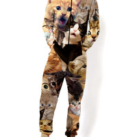 Surprised Cats Onesuit