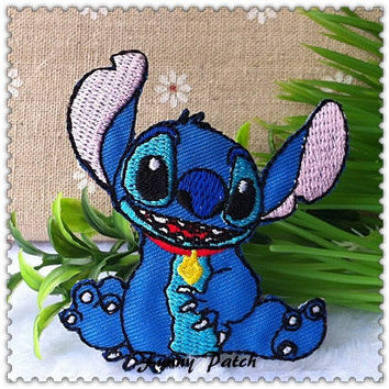 Disney Lilo and Stitch Iron on Patch 01-H