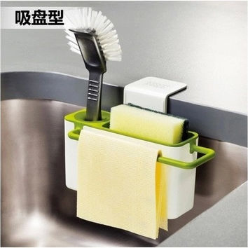 Kitchen Rack Storage Brush Sponge [4918302532]
