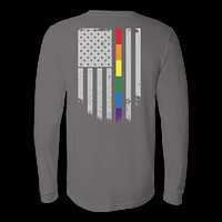 LGBT - LGBT Thin Line - Unisex Long Sleeve T Shirt - TL01211LS