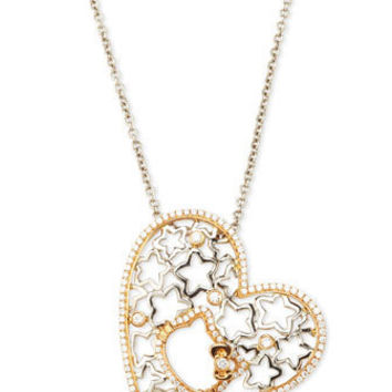 Hello Kitty - Hello Kitty & Star Heart Diamond Necklace - Last Call