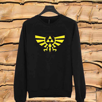Legend of Zelda sweater Sweatshirt Crewneck Men or Women Unisex Size