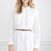Belted Classic Shirt Dress