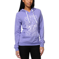 TWLOHA Dove Heahter Purple Pullover Hoodie  at Zumiez : PDP