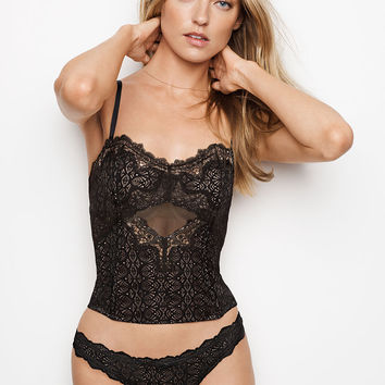 Chantilly Lace Keyhole Bustier - Dream Angels - Victoria's Secret