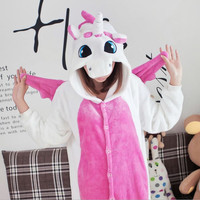Adult Unisex Pajamas Animals Character Full Sleeve Hooded Polyester Pajama Sets Pajama Animal Pajamas For Couples