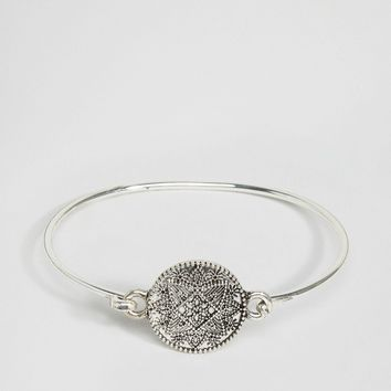 ASOS Filigree Disc Bracelet at asos.com
