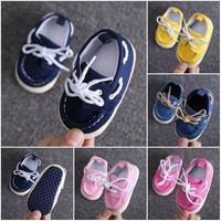 Jimmy Baby Boy Boat Shoes