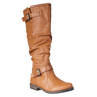 Riverberry Women's 'Montage' Knee-high Slouchy Boot | Overstock.com