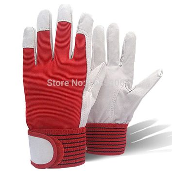 Best selling products mechanic work glove leather welding coat heavy industrial glove sport glove