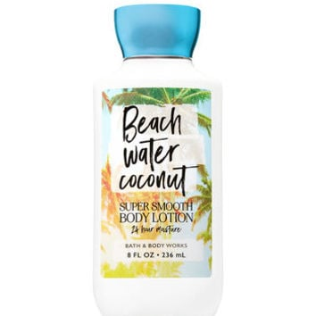 Signature CollectionBEACH WATER COCONUTSuper Smooth Body Lotion