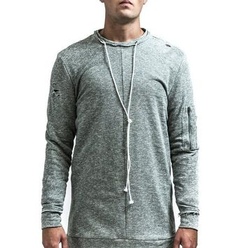 KOLLAR CLOTHING THE DEAN PULLOVER - MUTED TEAL