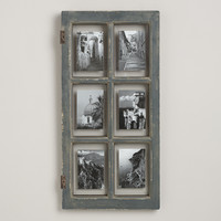 Gray Windowpane Frame - World Market