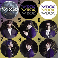 VIXX Eternity style Bottle Cap Necklace KPOP (9 Styles)