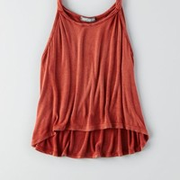 AEO Women's Dont Ask Why Twist Strap Tank
