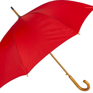 Haas-Jordan Fashion Golf Umbrella, Red