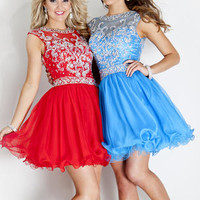 Rachel Allen Homecoming Rachel Allan Prom 6696 Rachel ALLAN Short Prom Michelle's Formal Wear, Adel GA, South GA, Prom Dresses, Pageant Dresses, Bridal Gowns