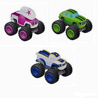 Nickelodeon's Blaze and the Monster Machines Starla, Pickle, Darlington Truck Bundle
