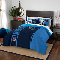 Tennessee Titans NFL Full Comforter Set (Soft & Cozy) (76 x 86)