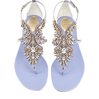 René Caovilla Eclipse Gemstone Sandals