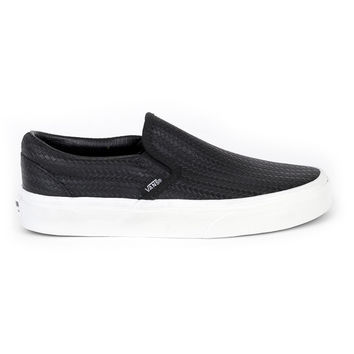 Vans Women Classic Slip-On Braided Shoes