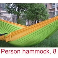parachute cloth single hammock tourism camping hammock survival outdoor or indoor