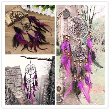 Small Indian Dream Catcher American Wall Hanging Bedroom Living Room Home Decor
