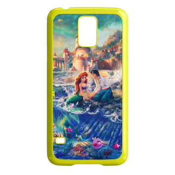 The Little Mermaid Princess Ariel Wave Samsung Galaxy S5 Case