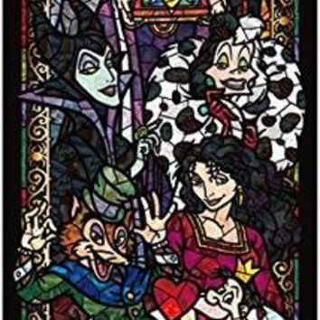5D Diamond Painting Disney Villains Stained Glass Look Kit
