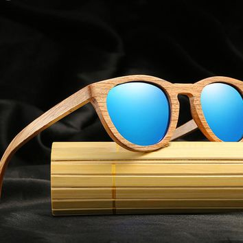 HD Polarized Women's Wooden Persol Sunglasses