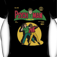 Psychman and Magic Head Women's T-Shirt