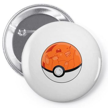 poor pikachu Pin-back button