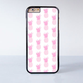 Pink Pineapple Plastic Case Cover for Apple iPhone 6S 6S Plus 6 6 Plus 4 4s 5 5s 5c