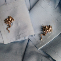 Young Dragon Cuff Links Inspired by Game of Thrones