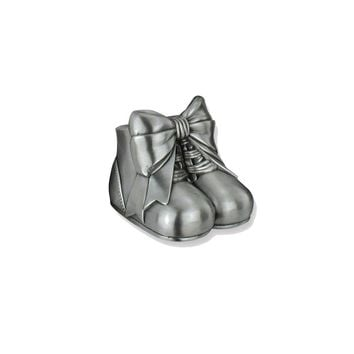 Baby Shoes Metal Bank