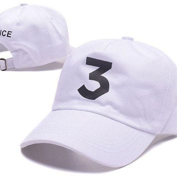 ESBC8S Chance The Rapper CHANCE 3 The Rapper Hat Dad Hat
