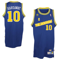 Golden State Warriors Tim Hardaway #10 Away Throwback Jersey