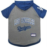 ONETOW Los Angeles Dodgers Pet Hoodie T-Shirt
