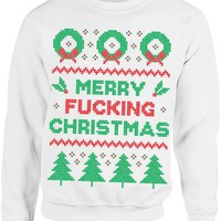 Ugly Christmas Sweater - Merry F*cking Christmas